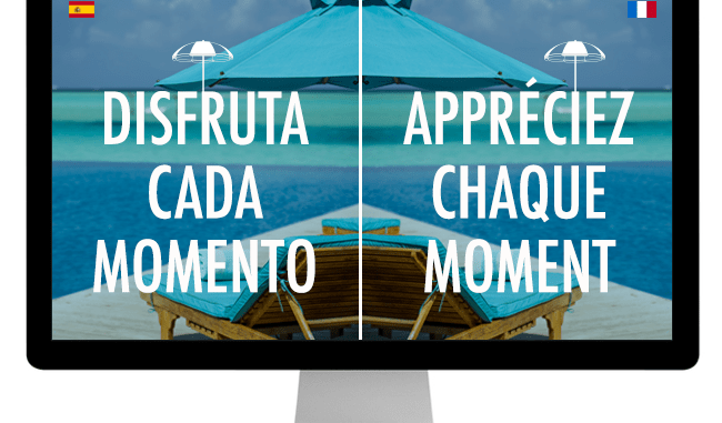 web multilenguaje